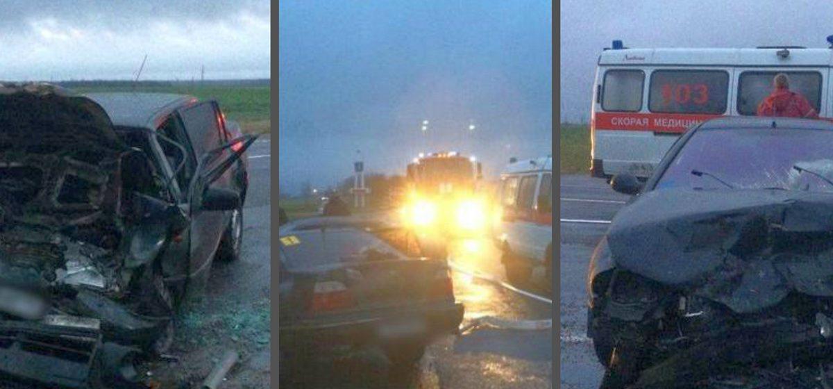 Под Столином лобовое столкновение: четыре человека в больнице