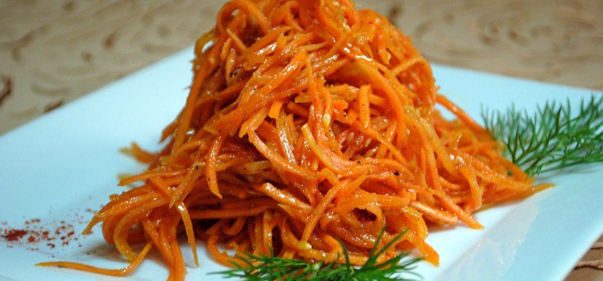 Простые блюда с морковью