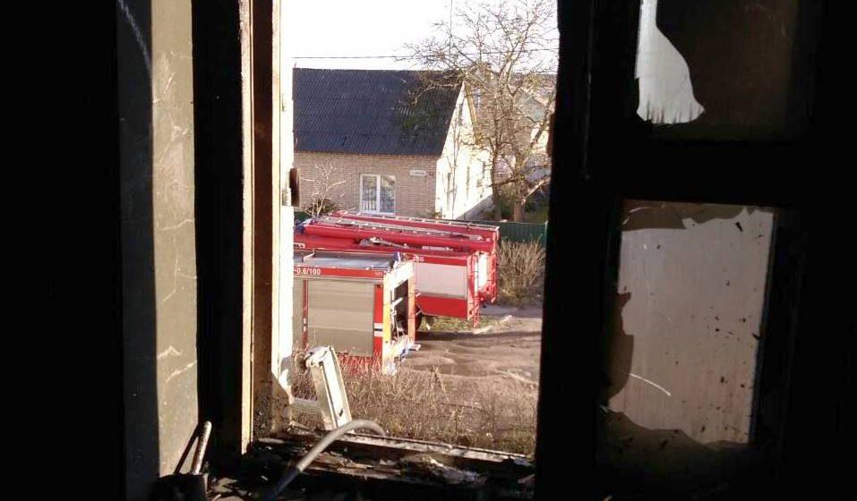 В Барановичах на пожаре погиб 83-летний пенсионер