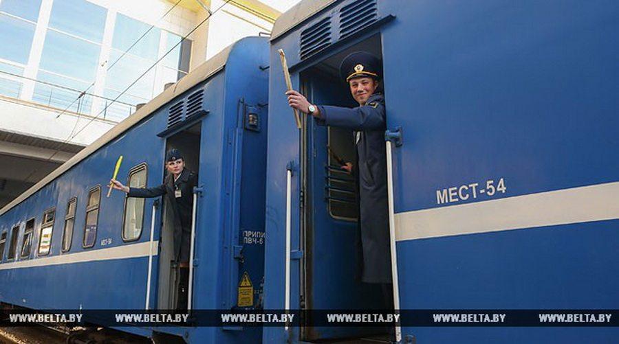 БЖД на новогодние праздники назначила дополнительный поезд до Львова, который будет останавливаться в Барановичах