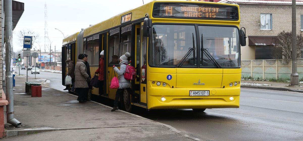 Барановичский автопарк в 2017 году закупил 15 новых автобусов