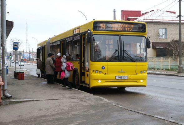 В Барановичах автобусы №6 и №10 вновь следуют до улицы Фабричной: строители раньше срока выполнили работы