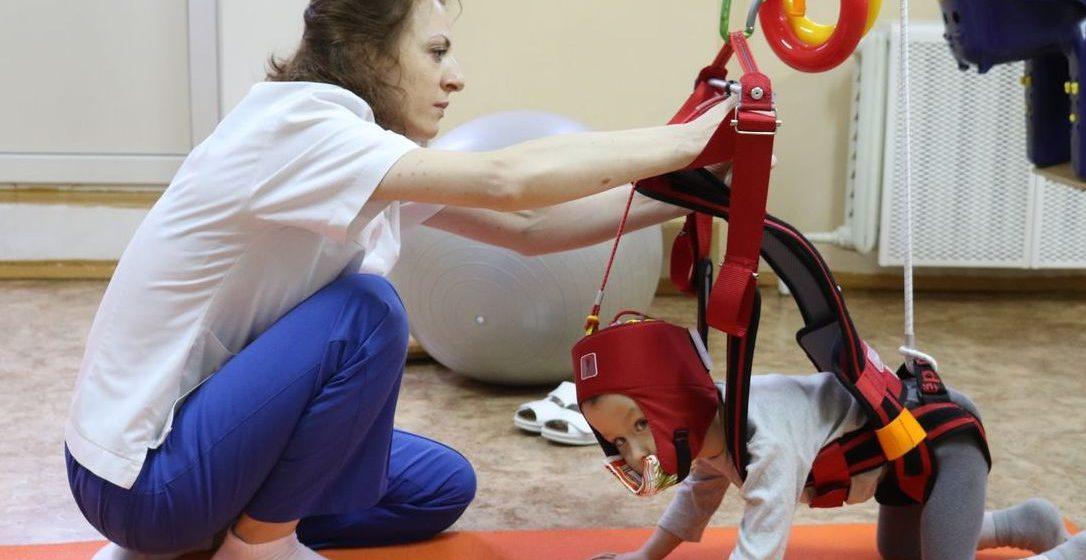 В Барановичском детском реабилитационном центре установили новое оборудование