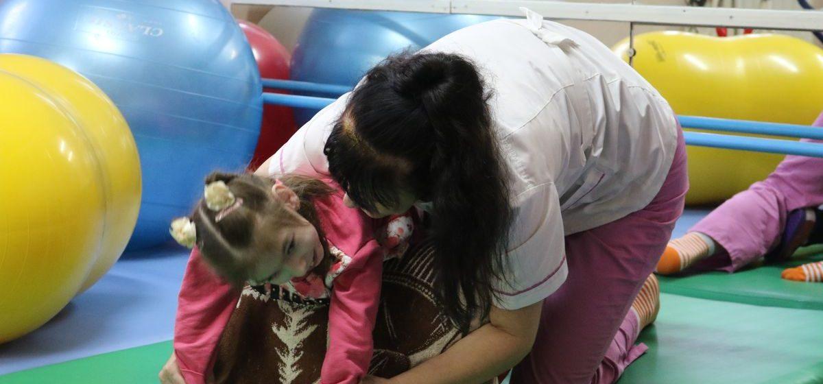 Как в Барановичах работает детский реабилитационный центр