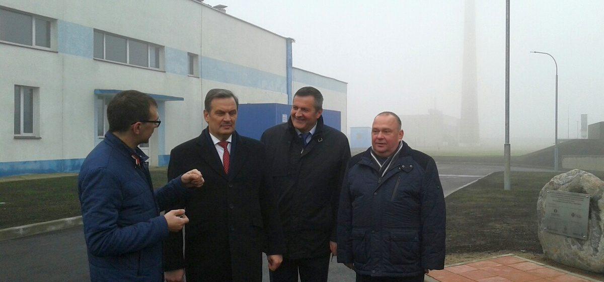 Вице-премьер Беларуси посетил барановичский биогазовый комплекс