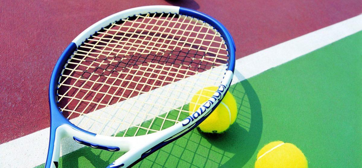 Юные барановичские теннисисты отличились на первенстве области