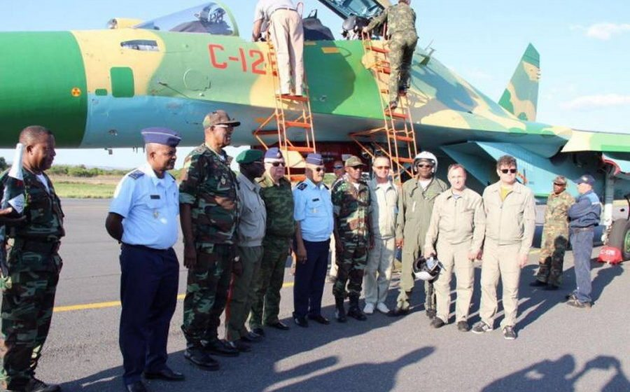 Беларусь передала Анголе 12 истребителей Су-30К, которые проходили модернизацию в Барановичах
