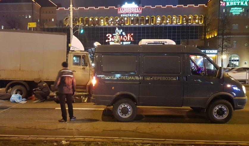 В Минске задержан водитель грузовика, под колесами которого погибла девочка
