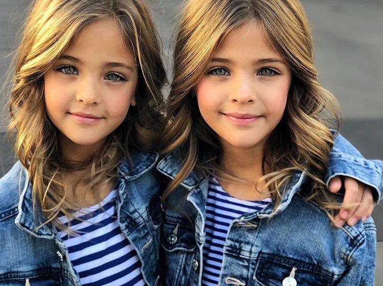 Названы самые красивые близняшки в мире