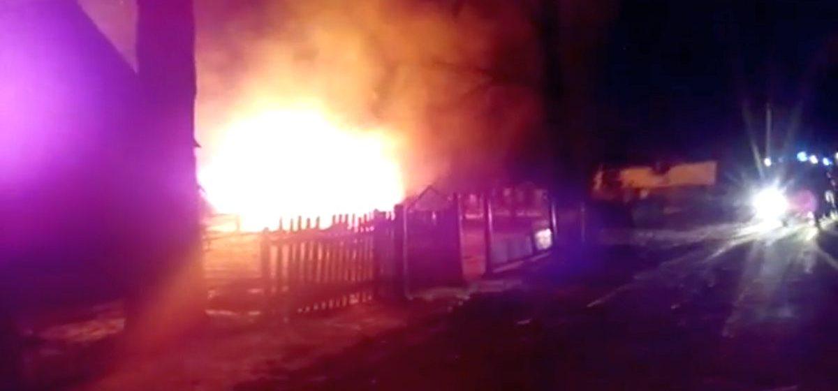 В Ляховичском районе на пожаре погиб мужчина