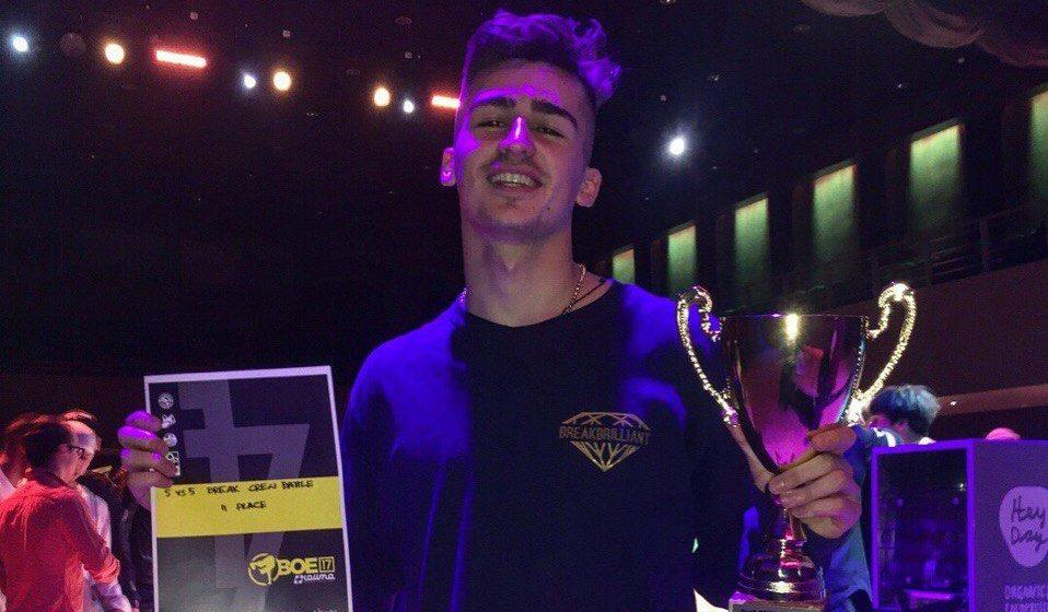 Барановичский танцор стал призером международного фестиваля уличных танцев в Эстонии