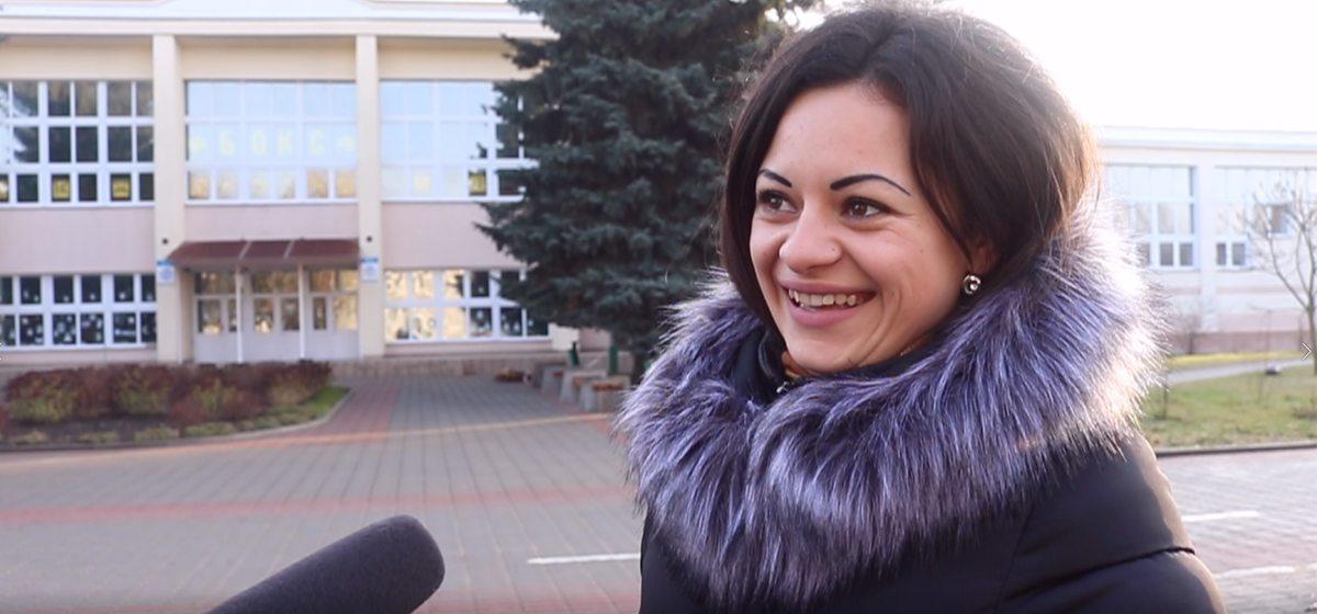 Как жители Барановичей поздравили город и горожан с Новым годом (видео)