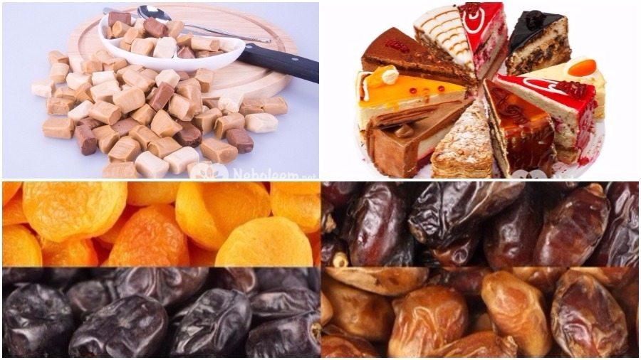 Четыре наиболее вредных вида сладостей и варианты их замены
