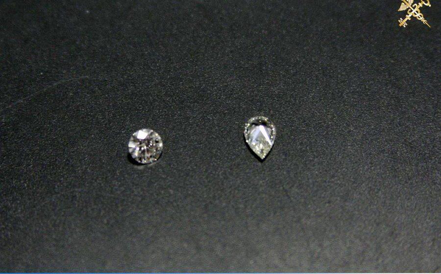 В Бресте таможенники задержали россиянина, который пытался ввезти в Беларусь 12 контрабандных бриллиантов