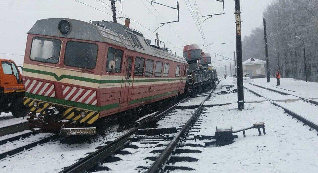На участке железной дороги «Барановичи – Минск» произошла авария
