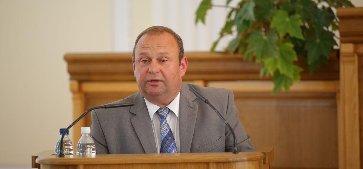Юрий Громаковский поздравил жителей Барановичей с наступающим Новым годом