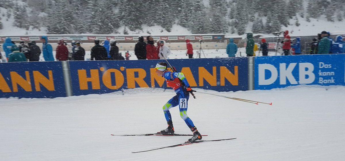 Дарья Домрачева выиграла золото в спринте на 2-м этапе Кубка мира по биатлону (видео)
