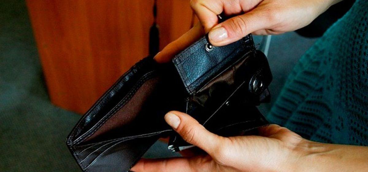 Безработный в Барановичах получает в среднем пособие в 26 рублей в месяц
