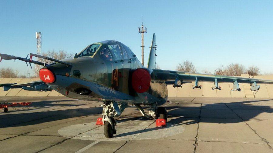 В Военно-воздушные силы Казахстана прибыли самолеты Су-25, отремонтированные в Барановичах