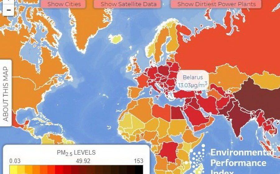 Четыре белорусских города попали в ТОП самых загрязненных городов мира