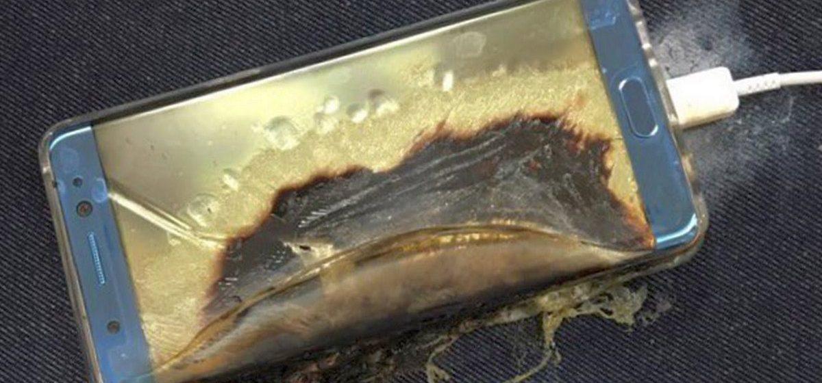 В России 11-летняя девочка получила ожоги от взорвавшегося телефона Samsung