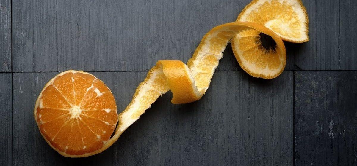 Семь полезных свойств апельсиновой кожуры