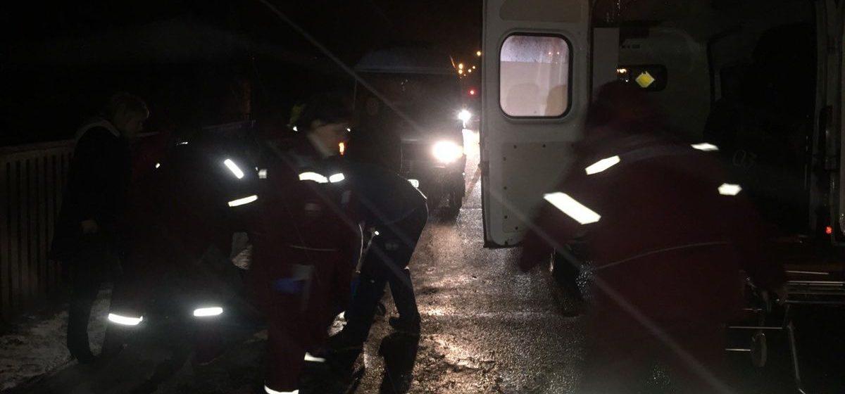В Барановичах на улице Кирова сбили женщину