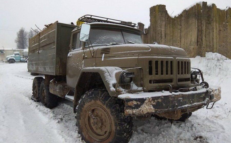В Мстиславском районе погоня ГАИ за грузовиком с металлоломом, который пытался прорваться в Россию, завершилась стрельбой
