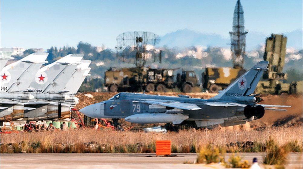 В Сирии при обстреле военной базы уничтожены семь российских самолетов