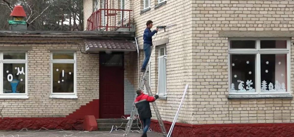 Видеофакт. В Светлогорске, где из детсада сбежали трое малышей, установили камеры видеонаблюдения