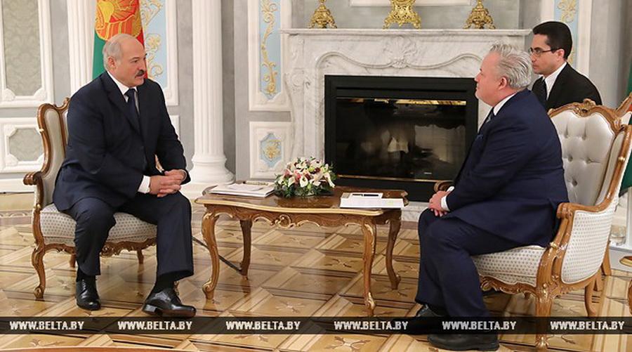 Лукашенко – спецпредставителю ОБСЕ: «Мы не можем согласиться или допустить, чтобы нас где-то толкали в спину, понукали нами, поучали нас»