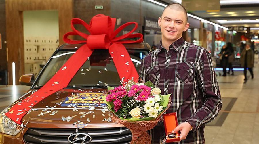 Парня, который выиграл у Евроопта автомобиль, выпустили из СИЗО, чтобы он мог получить приз