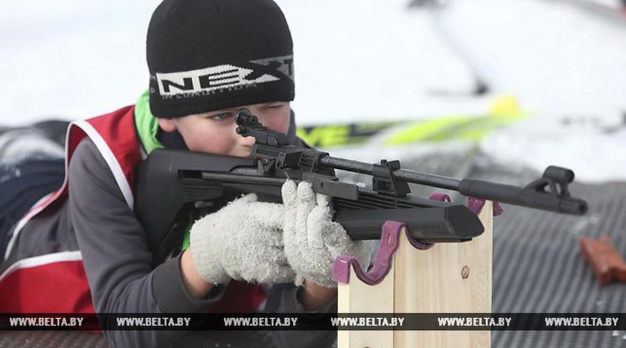 В Барановичском районе в начале февраля пройдет второй этап соревнований юных биатлонистов «Снежный снайпер»