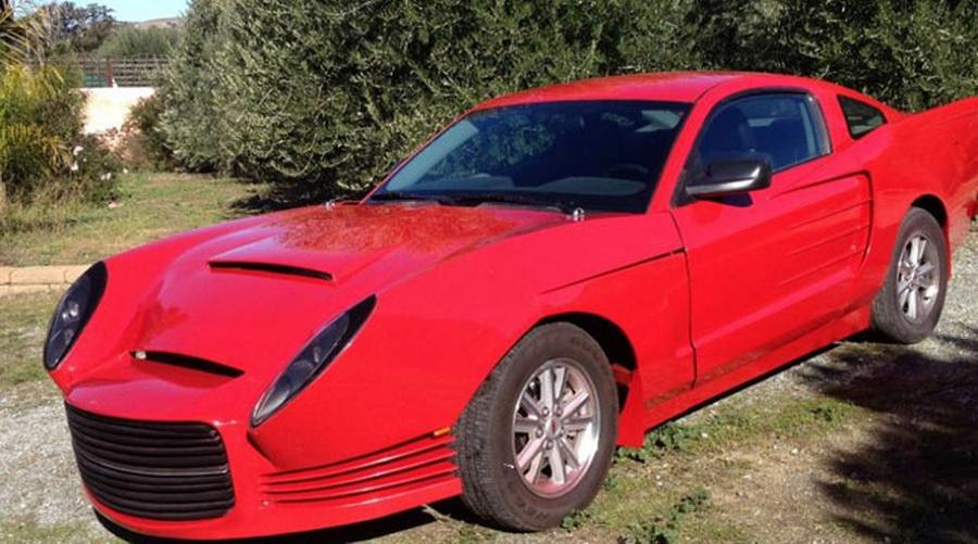 В сети появилось объявление о продаже самого уродливого Ford Mustang в мире