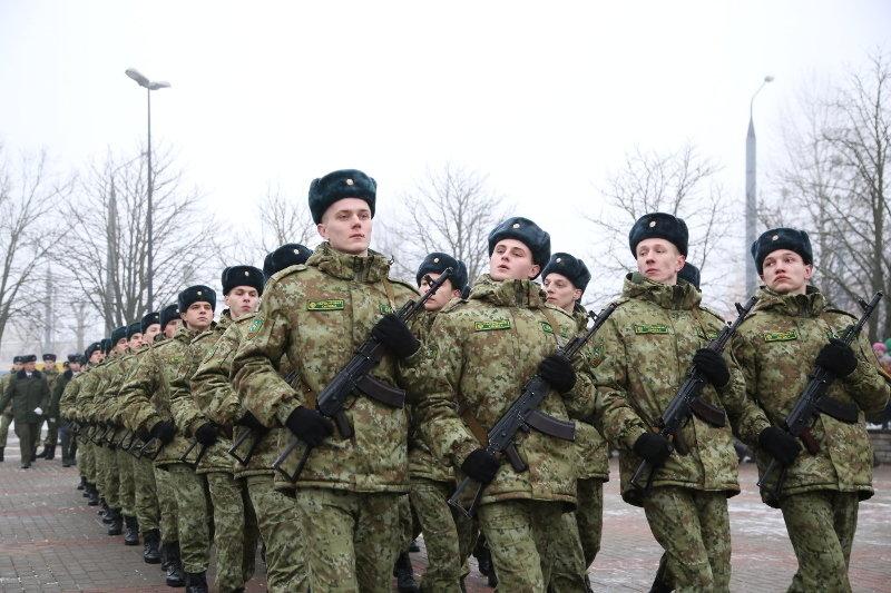 У белорусских пограничников новая форма (фото)