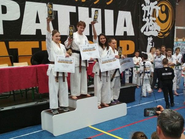 Воспитанница барановичского клуба Shiroi Tora стала третьей на международном турнире