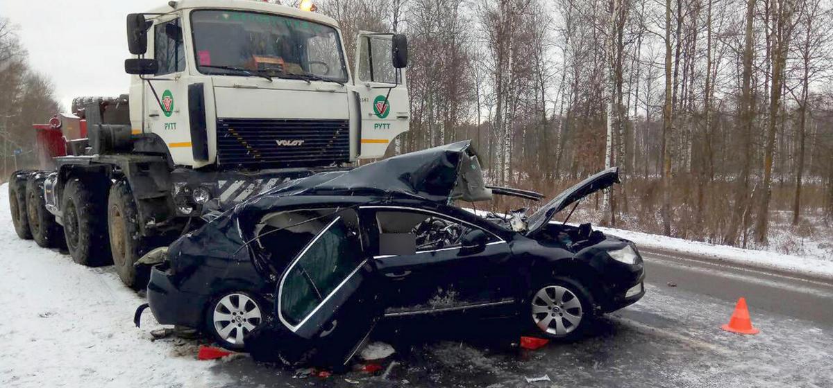 В ДТП под Речицей погибли два гомельских чиновника и их водитель