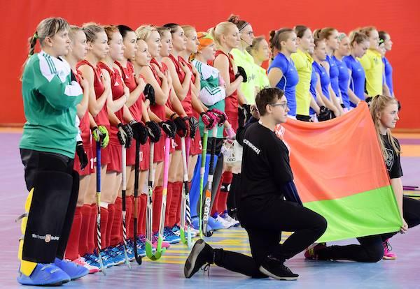 Сборная Беларуси по индорхоккею заняла 3-е место на чемпионате Европы