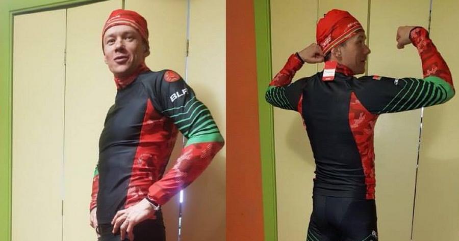 Фотофакт. Белорусский спортсмен показал, в какой форме будут выступать лыжники из Беларуси на Олимпиаде-2018 в Пхенчхане
