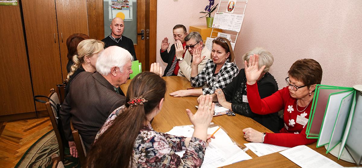 В Барановичах зарегистрировали кандидатов в депутаты и избрали нового председателя городского избиркома