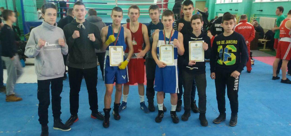 Барановичские юноши – в числе призеров международного турнира по боксу