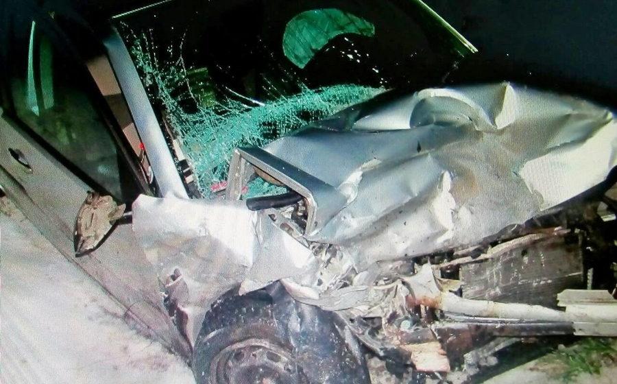 В Берестовицком районе лоб в лоб столкнулись две легковушки, погиб один человек