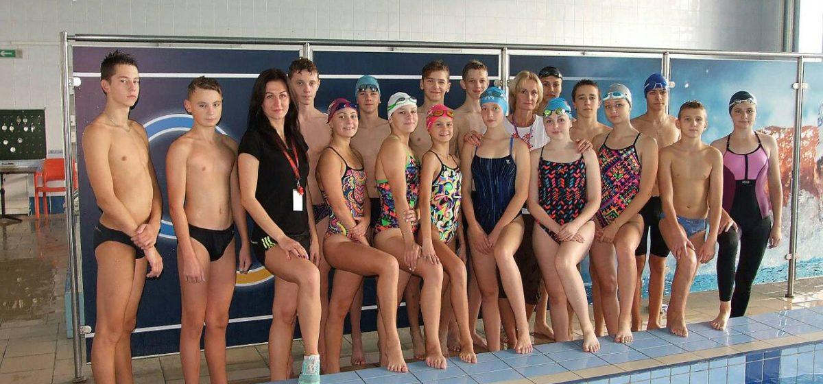 Команда Барановичской СДЮШОР №4 заняла 2-е место на Кубке Брестской области по плаванию