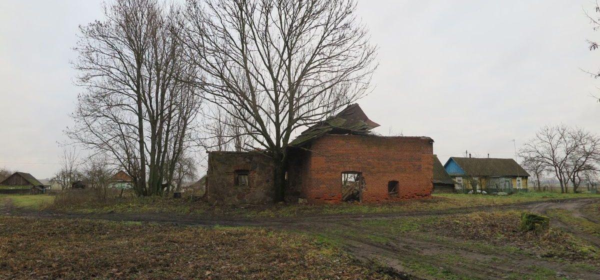 Как в Ляховичском районе историческое здание разобрали на кирпичи для печек