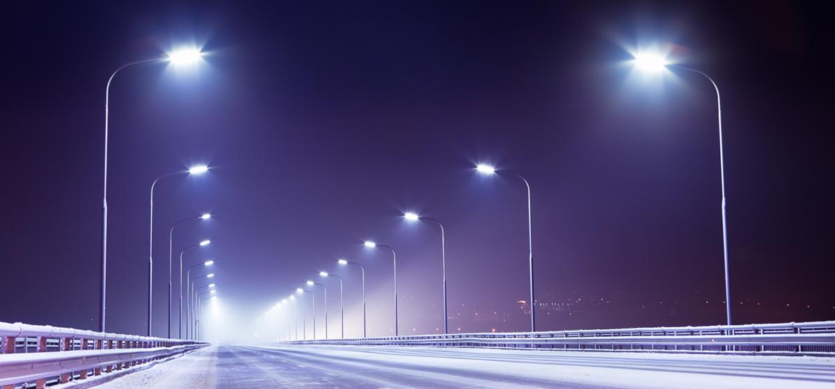 В 2017 году в Барановичах установили около 650 светодиодных светильников