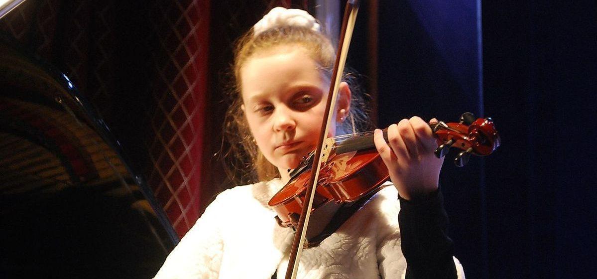 Барановичская скрипачка стала призером Международного конкурса-фестиваля «Этажи»