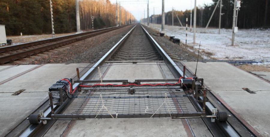 На границе с Литвой белорусские пограничники нашли автоматическую мини-дрезину контрабандистов
