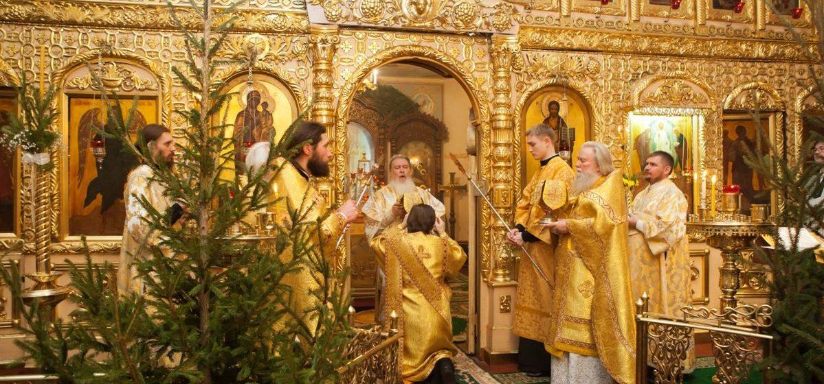 Праздничные Богослужения на Рождество в Барановичах в 2018 году