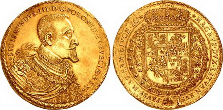 В США на аукцион выставили золотую монету с «Погоней» за 1,2 миллиона долларов