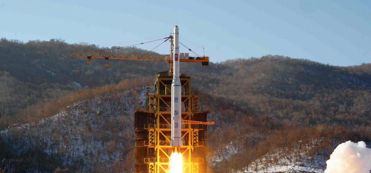 КНДР запустила ракету на собственный город